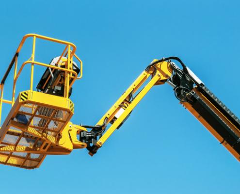 nabízíme pronájem montážní plošiny pro výškové práce